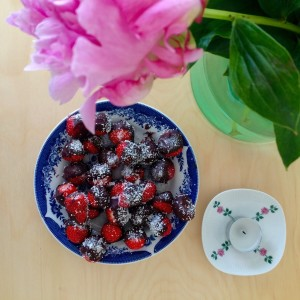 choco aardbeien