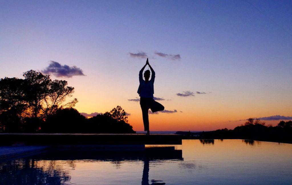 Yoga vrksasana Martine Hilverda